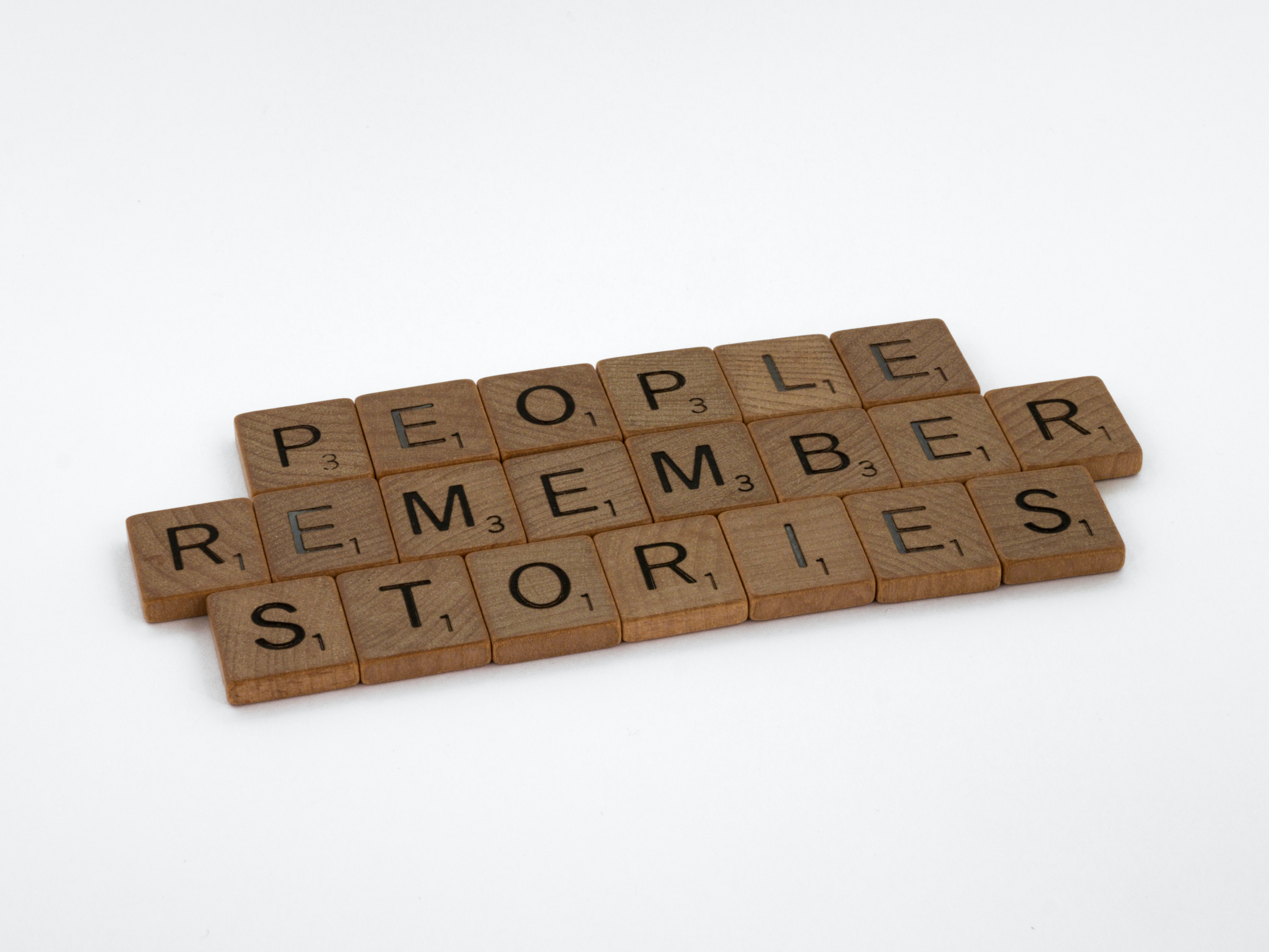 You have stories to tell