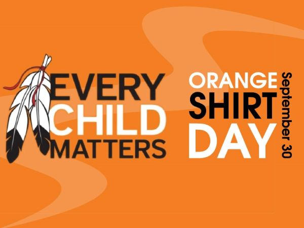 Image text Every Child Matters / Orange Shirt Day